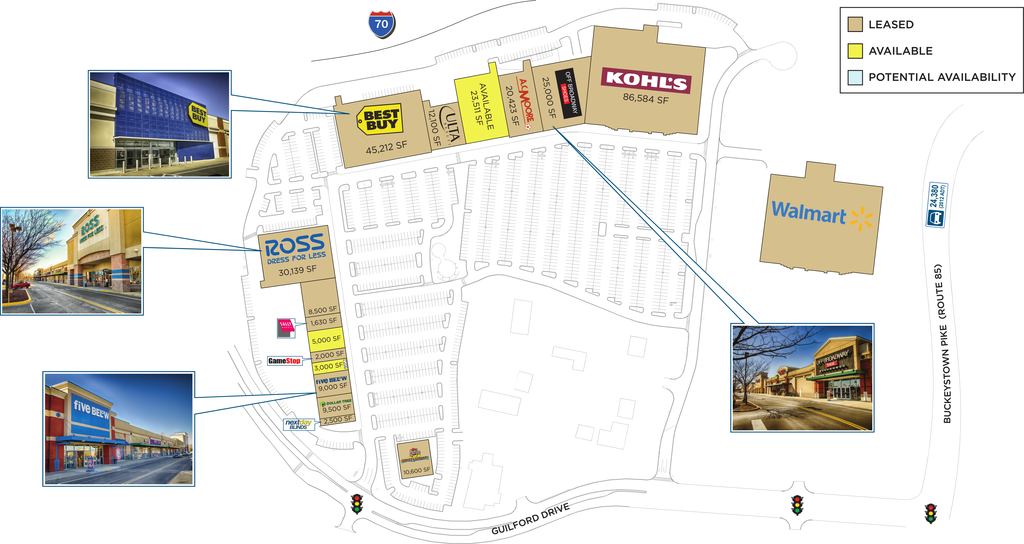 Frederick Md Frederick Crossing Retail Space For Lease
