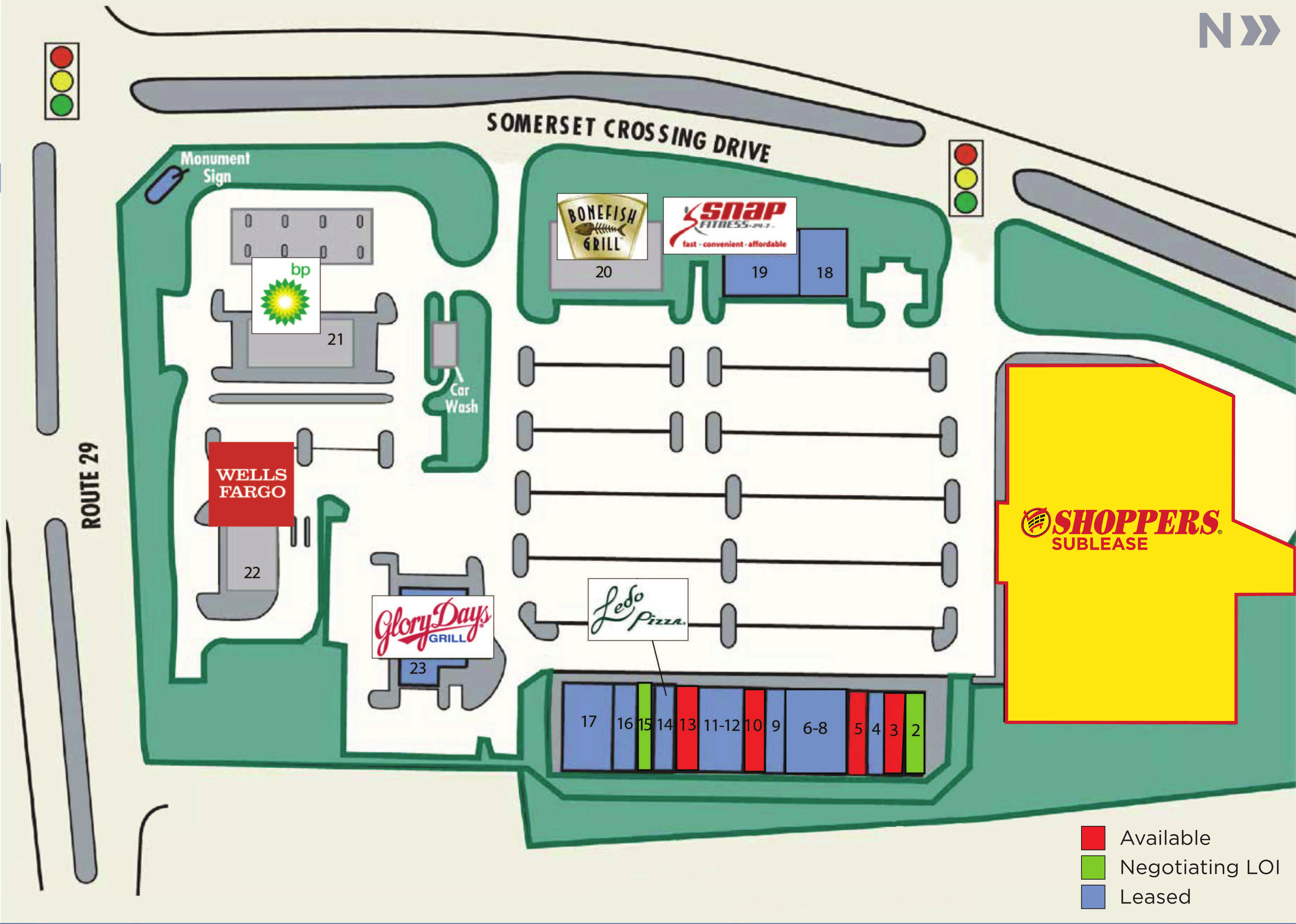 Gainesville Va Shoppers Sublease Somerset Crossing