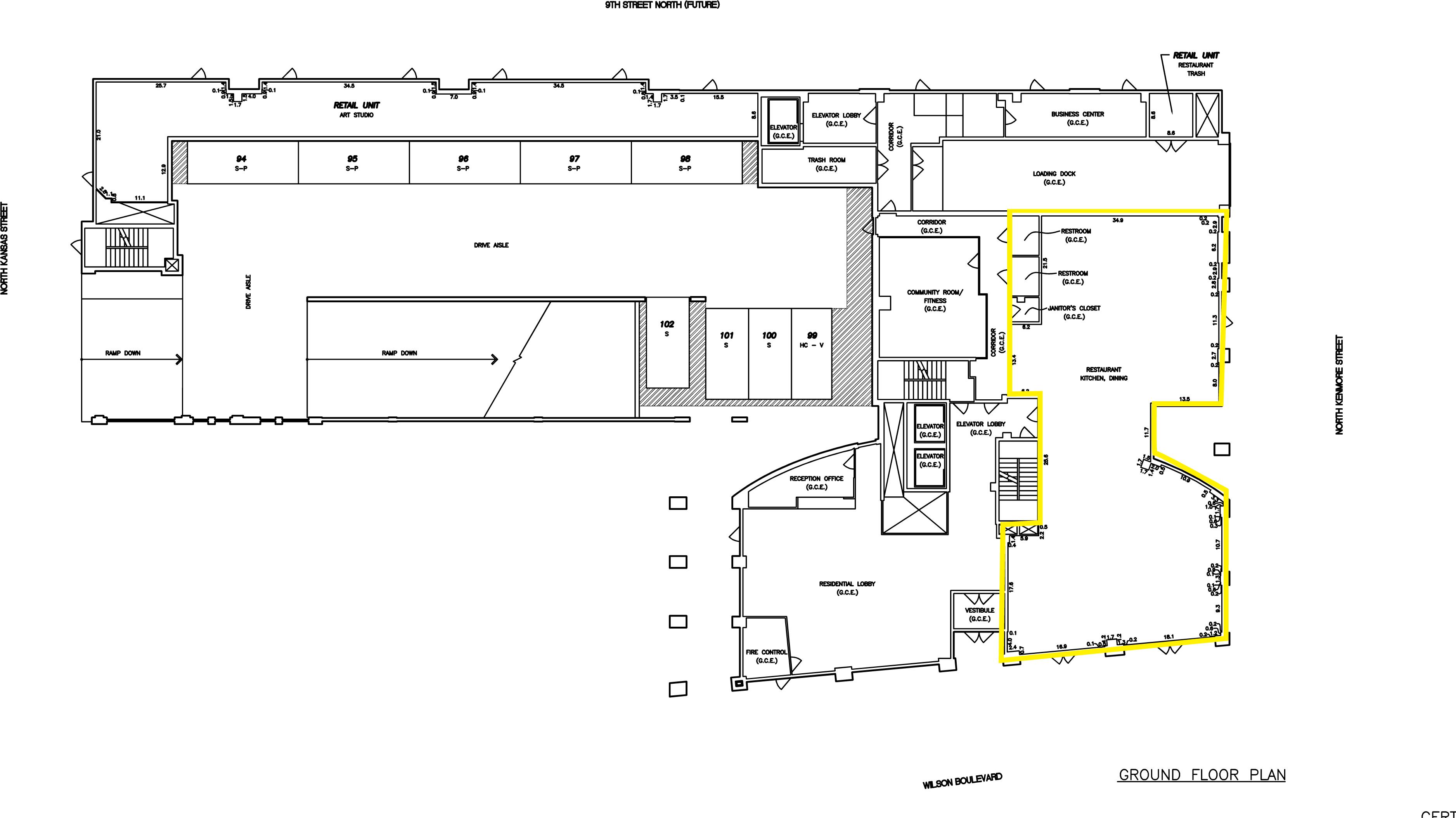 arlington va 3409 wilson boulevard retail space klnb retail